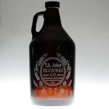Modern Hops & Wheat Brewing Co Personalized 32oz  Mini Growler