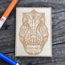 Trex Face wood coloring panel