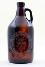 Beer Skull Growler