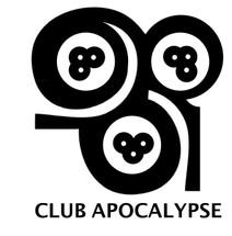 Custom listing for Shane - 24 rocks glasses with Club Apocalypse art