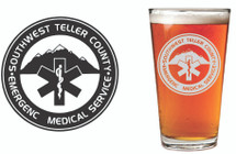 Custom listing for Wendy - 40 pints with Teller County EMS logo
