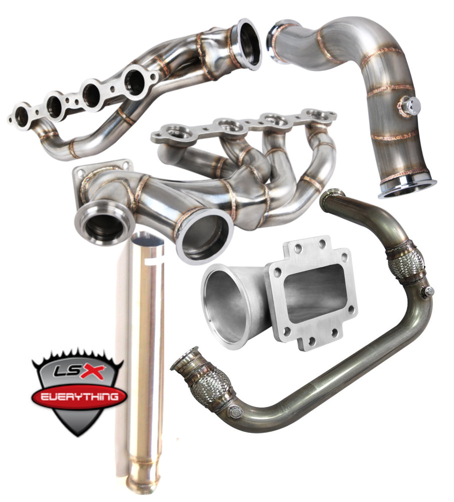 Single Big T4 Turbo Provision, Supports 700-800 WHP. Upgrade to T6 Provision to support 1,200 WHP