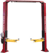 "Working in your shop can be so much more fun or efficient when you have your own lift. Get yours today! Discount when you buy two or more lifts at once. Contact us for shipping options or for installation.  •9,000 lb lifting capacity •Chain Drive •Adjustable Column Width - Provides extra 6"" of width adjustment for narrow service bays to custom fit your shop •Rubber Door Guards - Provides added security against door damage. •Hose Guards - Protects hydraulic hoses from damage •Stackable Foot Pad Extensions - Extra tall applications are no problem with the four 3.5"" extensions •Dual Point Lock Release - Allows technicians to disengage both column locks independently •Heavy-Duty Arm Restraint System - Oversize rugged steel gears, pins, and springs for trouble free operation •Double Telescoping Screw Pads - Used with rubber pads offering 2.5"" adjustment for complete vehicle coverage •3 Stage front arms"