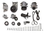 Water pump, HB, Alternator, A/C Compressor, P/S Pump, Belt