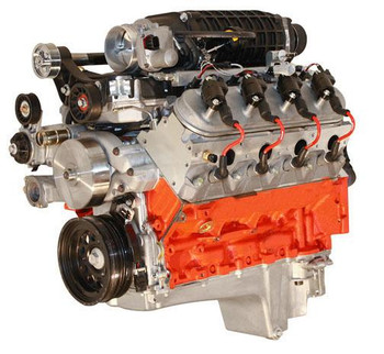Actual Engine Displacement: 6.7L/408 Engine Assembly Style: Long block Crate Engine Cylinder Head Material: Aluminum Assembled: Yes Engine Balance: Internal Cam Style: Hydraulic roller tappet Rear Main Seal Style: 1-piece Intake Manifold Included: Yes Intake Manifold Style: Fuel Injection Cylinder Heads Included: Yes Carburetor Included: No Throttle Body Included: Yes Distributor Included: No Oil Pan Included: Yes Valve Covers Included: Yes Timing Cover Included: Yes Water Pump Included: No Harmonic Balancer Included: Yes Flexplate Included: No Flywheel Included: No Air Cleaner Included: No Spark Plugs Included: Yes Spark Plug Wires Included: Yes Computer Included: Yes Wiring Harness Included: Yes