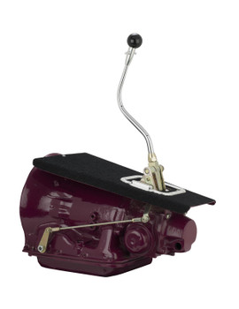 Automatic Shifter, Musclecar Series, GM, 4L80E, 16 in. Stick Length, Bench Bend, White Knob, Each