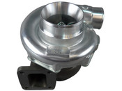 """T76 0.96 A/R Q Trim Turbo Charger 0.80 A/R Compressor Housing T4 0.96 A/R Q-Trim Turbine Housing, Great Choice for Engines with Big Exhaust, Like LM/LQ V8 Motors 3"""" V-Band Exhaust Outlet 4"""" Air Inlet and 2.5"""" Turbo Outlet AN4 Oil Inlet Works for Many Bigger HP Applications, 600-700 WHP High Quality Built product. Each Turbo is individually tested and computer balanced. BRAND NEW, not used, not remanufactured. Click for more info"""