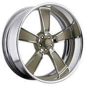 Raceline Billet wheels are CUSTOM BUILT to your order in our Southern California wheel factory. Each wheel center is precisely CNC machined out of a solid 6061 T6 forged billet aluminum disc.After the finishing process, the center is then assembled into a spun aluminum rim to the exact offset you require for your build. These are powdercoated. Polished available for $100 less/wheel.