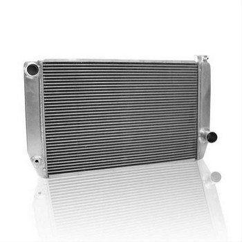 Griffin Radiator is a long time producer of quality products. With over 30 years of experience building performance radiators, they stand behind their products and people. Manufactured with lightweight aluminum technology, these radiators are designed in a wide variety of racing sizes for your cooling needs. The Griffin design incorporates open-fin spacing that promotes airflow through the radiator to enhance the cooling. Perfect for your swap or stock replacement.