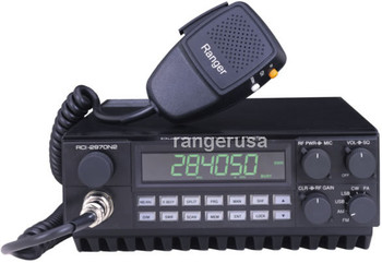 Ranger Communications once again sets the performance and reliability standard for entry level amateur mobile transceivers with the latest generation of our popular RCI-2950DX/70 series of cost effective, multi mode, high performance transceivers.  Introducing the new RCI-2950DX & RCI-2970N2. These new models feature microprocessor control of not one but two amateur bands. The new RCI-2950DX, rated at 25W PEP and the RCI-2970N2, rated at 200W PEP are perfect for the recent band openings on 10 and 12 meters. Now you can upgrade your mobile Ham capabilities with a radio that is rich in features and reasonable in cost.   The new models have retained the operating features of its popular predecessors, including programmable repeater offset and capabilities for a CTCSS tone option — great for increasing repeater activity on 10 meters — and receiver scanning for quick search of active frequencies. The units offer three methods of frequency selection, non-volatile memory to store and scan up to ten favorite frequencies, and front panel frequency selector lockout.