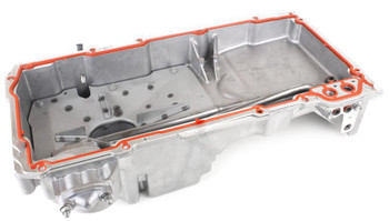 One of the many unicorns from the GM lineup, the 2004-2006 Pontiac GTO Oil pan is very difficult to find new, let alone used.  Well, look no further. This brand new oil pan features the quite necessary front sump that many of you are looking for on your builds. We offer this complete with windage tray, dipstick tube and mounting hardware. Also works with LS1, LS2, LS3, LS6, LS9, L59, L76, L98, L92, LQ4, LQ9, LSA and LSX engines.   Perfect for use in GM X-body, Nissan 240, Mazda RX-7 among many other applications.