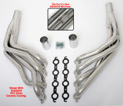 """These Headers are designed specifically for installing an LS engine into 1967-98 2WD Chevy/GMC 1/2 Ton Trucks and SUVs (C10, C15, C1500, R10, R1500 trucks, Suburbans, Yukons and Tahoes), and are available in a variety of tube lengths and diameters. These headers will work with our LS Swap kits.  These headers are 1 7/8"""" long tube and uncoated."""