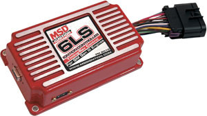 The 6LS and 6LS-2 Ignition Controllers can now be installed on EFI or carburetor equipped engines. While it may seem blasphemous to some, putting a carburetor on a GM Gen-III V-8 is a great option for those wanting the advantages of the aluminum small block without the headaches of wiring a modern EFI system. The controllers allow you to map a timing advance curve with MSD's easy-to-use Pro-Data+ software. Other programmable features include a two-step rev limiter, a vacuum advance curve for cruising economy and even a step retard in case you want to add a little nitrous to the mix. The 6LS is designed for LS1/LS6 type engines with a 24-tooth wheel, which can be identified by its black crank sensor connector. The 6LS-2 is designed specifically for the LS2/LS7 and its 58-tooth wheel, which can be easily recognized by its gray crank sensor connector. Both of these compact ignition controllers fit with matching factory connectors for a direct installation. Only a handful of connections are required; the coils, crank sensor, MAP sensor and the cam sensor. You'll have your carb'ed LSX running in no time!