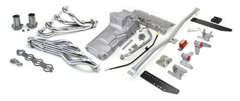 Hello LSx Guys! Get your B-Body on the road daily - get your project on the road with this swap kit!  1977-1990 B-Body LS Conversion Kit  This swap kit is for the 1977-1990 Caprice, Parisienne, LeSabre, Delta It was designed around our LH8 oil pan kit. The frame brackets bolt into existing holes in the frame so you know the engine will have clearance for accessory drives, factory AC box, power brake booster, and aftermarket suspension components. Unlike others, our kit positions the engine so there is no steering interference and maintains the proper drive-line angle for smooth highway cruising. We offer a complete line of Muscle Rods headers that give unparalleled performance and ground clearance with sizes that are matched to your engine combo. These combined parts offer an easy, strong, and clean installation of your LS engine