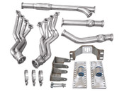 """No more wait! Now your JDM spirit can accomodate the need for V8 power and the ultimate in reliability! Get your Supra Swap going with our LS Swap Kit!  Engine Mounts,Transmission Mount, Oil Pan, Headers, Exhaust Y-Pipe & 3"""" V-Band Clamp  Left-hand drive configuration; if your are building one for RHD, modifications will be necessary.  Last Piece of Exhaust System (Axle Back Pipe, with Muffler) Is NOT Included. We Offer Complete Exhaust System Separately"""