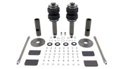 Now you can bag any vehicle with McPherson Strut suspension!  Universal Bellow-Over Strut Kit Front Or Rear Weight Up to 2000 lb. Incl. Generation II Strut Internal Bearing; Upper Mount The unique modular design of this kit can be applied to many different vehicle types and offers a smooth ride with excellent noise isolation and durability. The innovative Generation II strut accomplishes these enhancements with improved internal valving, triple tube design and internal bearings. The triple tube design features a 9-position damping control and offers a quieter ride with reduced friction and improved internal sealing.