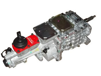 Want modern power combined with the fun of shifting on your own? You know we do! You can't rely on a factory tranny to hold up in your custom, high-horsepower vehicle! Put the power to the pavement with a American Powertrain Tremec TKO 600 transmission for unmatched durability and versatility. The gears and single-piece shafts are made from special ASTM-4615 steel for extra torque-carrying capacity (up to 600 ft.-lbs.!). The 3-rail shift system, cast iron shift forks, and billet aluminum short-throw shifters provide crisp shifting along with reduced road noise. These transmissions are available for street and racing applications. They have eight shifter locations, three crossmember mounting configurations, electronic and mechanical speedometer pickups, and three available input shafts, all to ensure a from-the-factory fit in your application.  Tremec TKO 600 manual transmissions are shipped dry from the manufacturer.