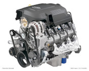 """LM7  The Vortec 5300 LM7 (VIN code 8th digit """"T"""") was introduced in 1999, and can be considered the """"garden variety"""" version of the Generation III 5.3 liter V8's. The 1999 LM7 engine produced 270 hp (201 kW) and 315 lb·ft (427 N·m), 2000-2003 engines made 285 hp (213 kW) and 325 lb·ft (441 N·m). The 2004-2007 engines made 295 hp (220 kW) and 335 lb·ft (454 N·m), it has a cast iron block and aluminum heads. This unit has 140k miles, and includes a 6 month warranty. Complete with ECM, harness and all accessories except for starter and a/c compressor."""