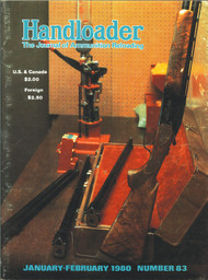 Handloader 83 January 1980