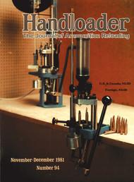 Handloader 94 November 1981
