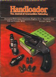 Handloader 113 January 1985