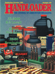 Handloader 165 September 1993