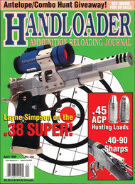 Handloader 180 April 1996