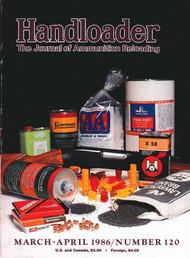 Handloader 120 March 1986