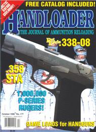 Handloader 177 October 1995