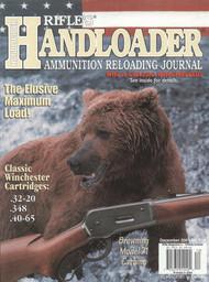 Handloader 214 December 2001