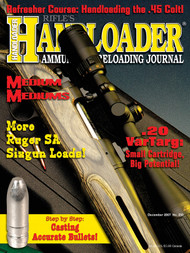 Handloader 250 December 2007
