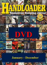 Handloader Yearly on DVD-ROM