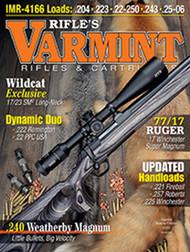 2016 Varmint Rifles & Cartridges