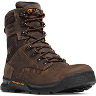 "Danner Men's Crafter 8"" Brown NMT Work Boot Style No. 12439"