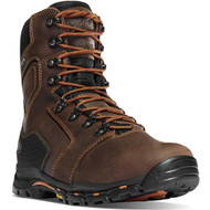 "Danner Men's Vicious 8"" Brown 400G NMT Work Boot Style No. 13874"