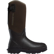 "LaCrosse Men's Alpha Range 14"" Brown 5.0MM Outdoor Boot"