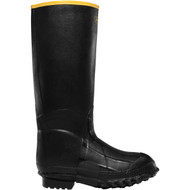 "LaCrosse Men's ZXT Knee Boot 16"" Black Foam Utility Boot"