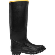 "LaCrosse Men's ZXT Knee Boot 16"" Black Utility Boot"
