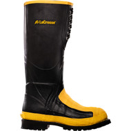 "LaCrosse Men's Meta-Pac AP 16"" Black MET/AT Industrial Boot"
