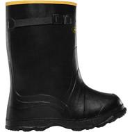 """LaCrosse Men's Utah Brogue Overshoe 14"""" Black Industrial Boot"""