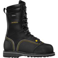 """LaCrosse Men's Longwall II 10"""" Black 200G MET/NMT CSA Industrial Boot"""