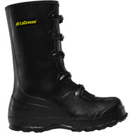 "LaCrosse Men's Z Series Overshoe 14"" Black Industrial Boot"