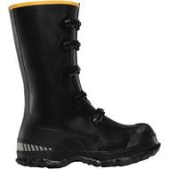 """LaCrosse Men's ZXT Buckle Wedge Overshoe 14"""" Black Industrial Boot"""