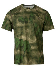 Hell's Canyon Speed Plexus Mesh Shirt Short Sleeve in ATACS Foliage/Green