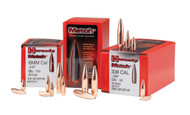 Hornady Match Bullets- 22 Caliber (224 Diameter) 75 Grain Hollow Point Boat Tail
