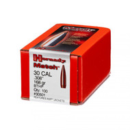 Hornady Match Bullets- 30 Caliber (.308 Diameter) 168 Grain  HPBT