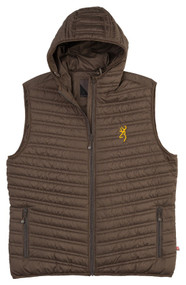 Packable Puffer Hooded Vest
