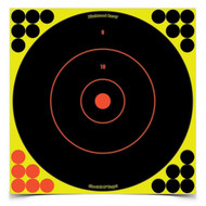 "Shoot•N•C Self-Adhesive Targets 12"" Bull's-Eye, 12 Pack"