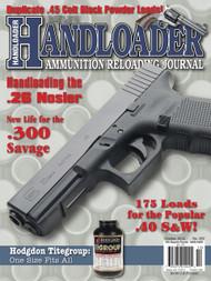 Handloader 292 October 2014