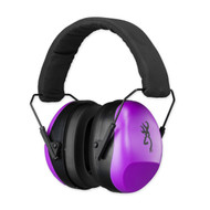 Buckmark II Hearing Protector, Purple, For Her